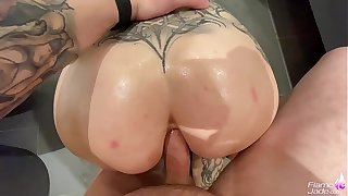 Admired Drill Hard Anal and Ass too Mouth - Facial POV