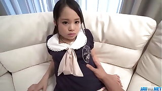 Risa Oomomo goes the extra mile for her master